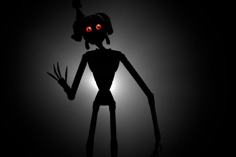 ... Ennard Shadow Background SISTER LOCATION FNAF by joelymon