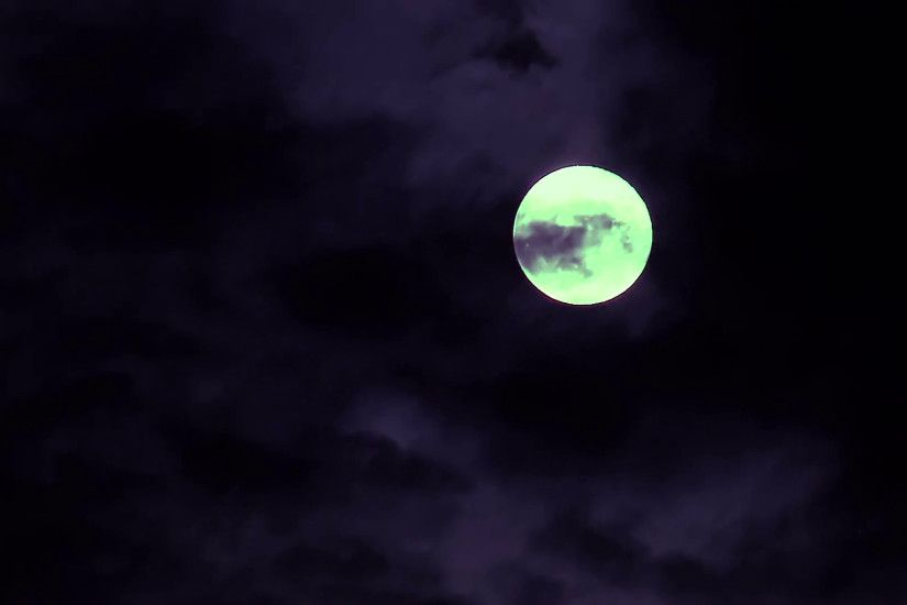 Full yellow moon and cloud at night time lapse Stock Video Footage -  VideoBlocks