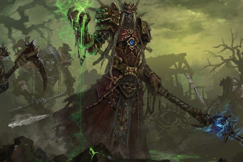 Undead warlock - World of Warcraft wallpaper - Game wallpapers - #