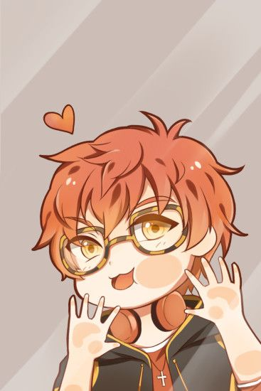 I made 707 wallpaper for myself ok i love him very much i'm sharing