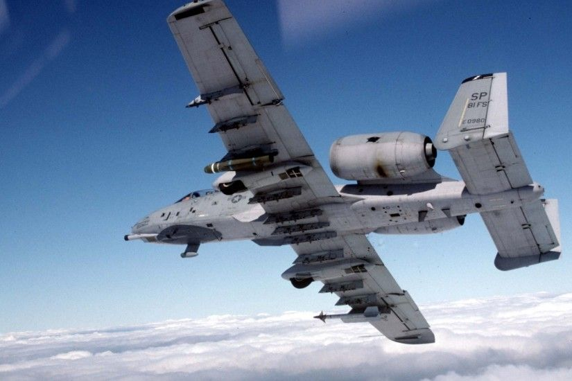 AircrAft MilitAry A10 HD Wallpaper