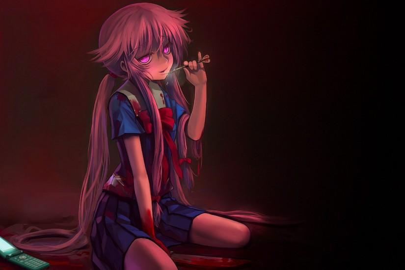 Future Diary wallpaper - 1082840