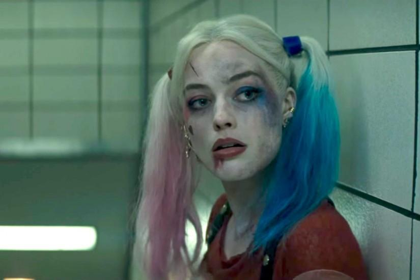 Margot Robbie as Harley Quinn in a film still from the upcoming Suicide  Squad, due