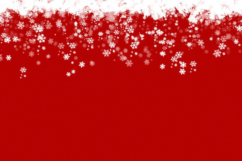 Red Christmas Snowflake Backgrounds (21)