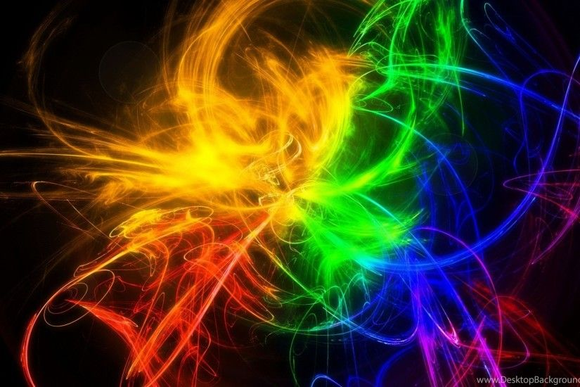 Smoke Colourful Wallpapers