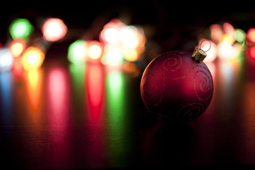 widescreen christmas lights background 3200x2129