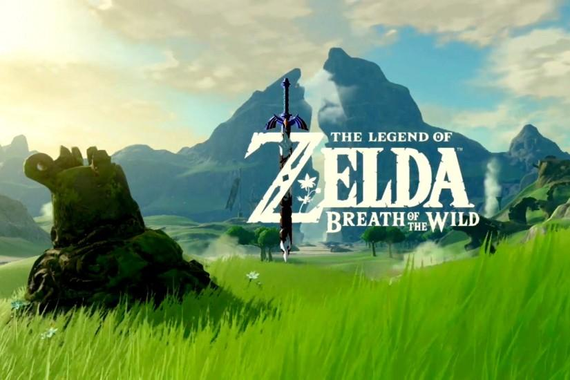 amazing zelda breath of the wild wallpaper 1920x1080 large resolution