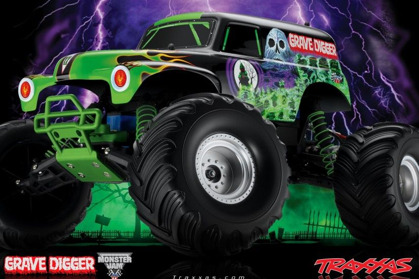 ... Nice Monster Truck Grave Digger Wallpaper Free download best Latest 3D  HD desktop wallpapers background Wide