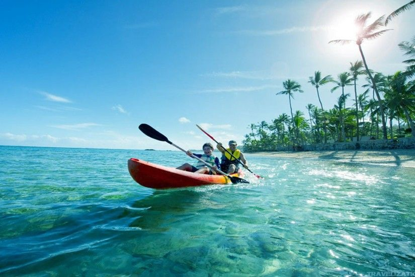 You can find Kayaking Near Fiji Wallpapers in many resolution such as  1024×768, 1280×1024, 1366×768, ...
