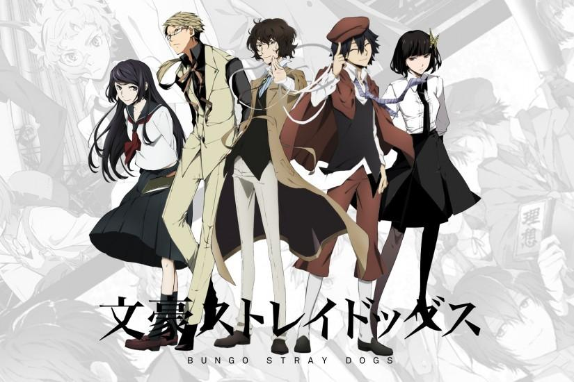 Anime Bungou Stray Dogs Full HD Wallpaper