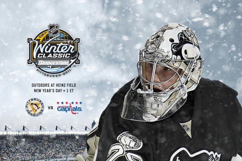 Pittsburgh Penguins Winter Classic Wallpaper