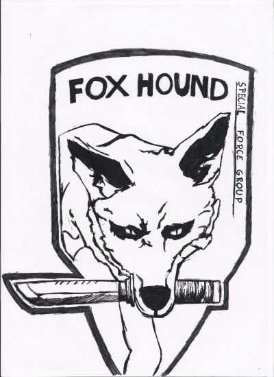 ... new Fox Hound Logo by Pvt-Snowball