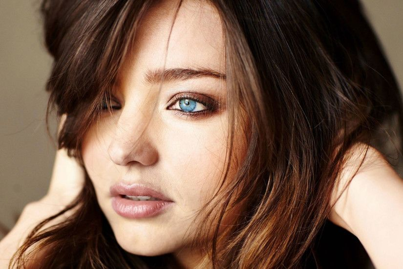 Miranda Kerr beautiful face