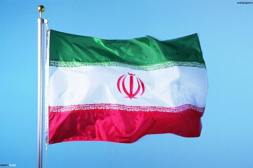 The traditional flag of Iran