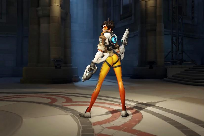 330 Tracer (Overwatch) HD Wallpapers | Backgrounds - Wallpaper Abyss