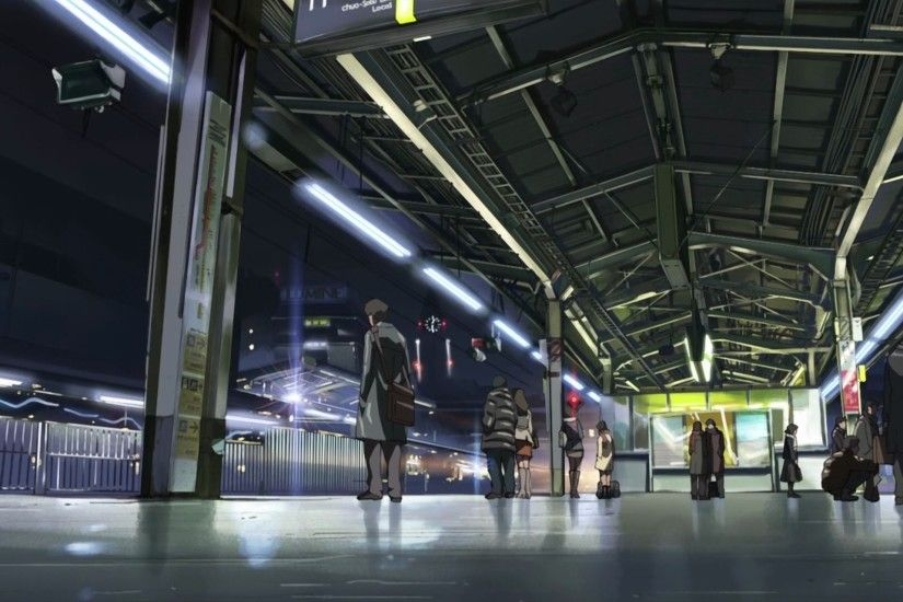 Anime - 5 Centimeters Per Second Centimeters Second Anime Wallpaper