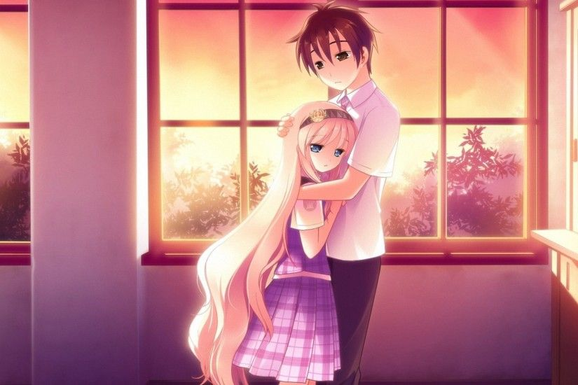 romantic anime HD wallpapers