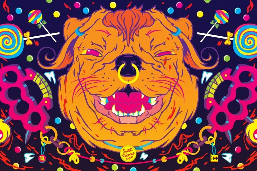 Images For > Trippy Animal Wallpapers Hd