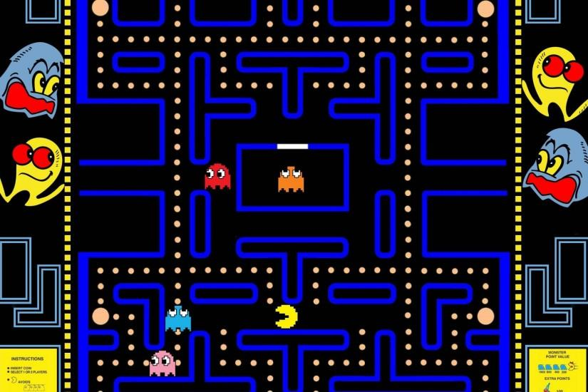 ... 122 Pac-Man HD Wallpapers | Backgrounds - Wallpaper Abyss ...
