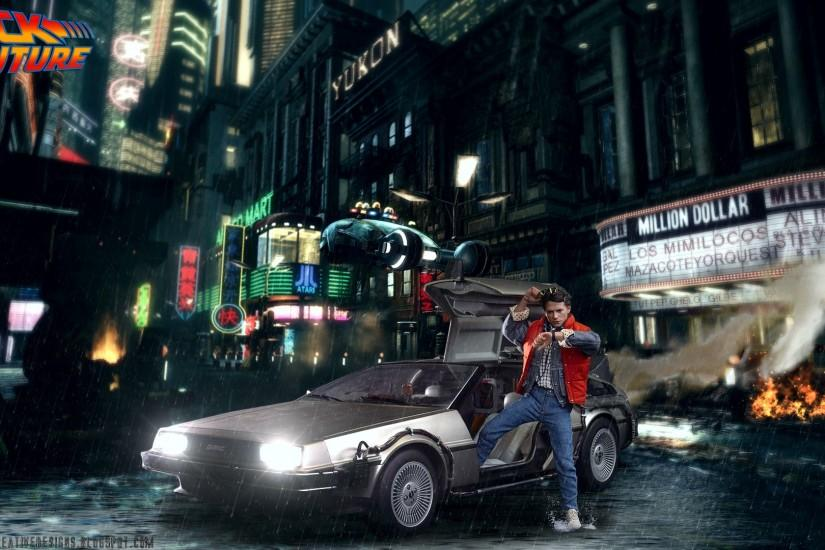 Hot Toys Back To The Future. HD Wallpaper 1920x1080