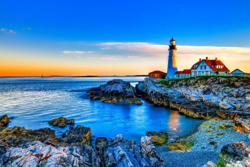 Lighthouse Desktop Wallpaper High Definition