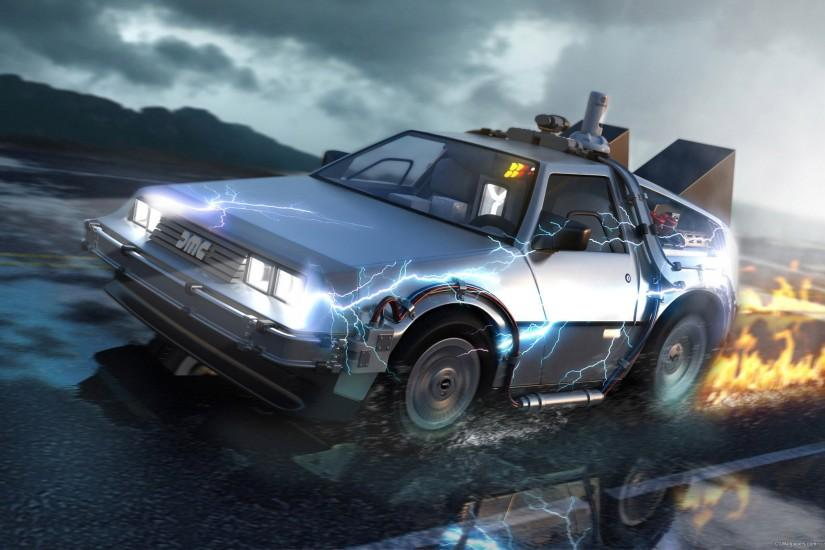 ... 61 Back To The Future HD Wallpapers | Backgrounds - Wallpaper Abyss ...