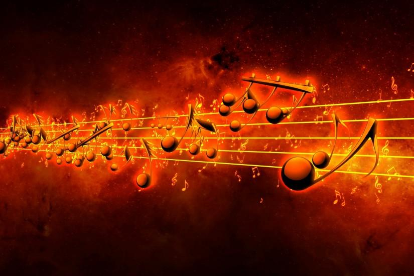 music notes background 3840x2160 for 1080p