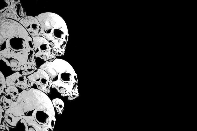 download free skull backgrounds 1920x1080