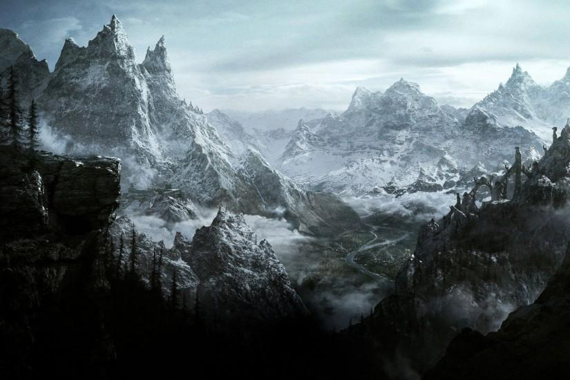 gorgerous skyrim wallpaper 1920x1080 x free download