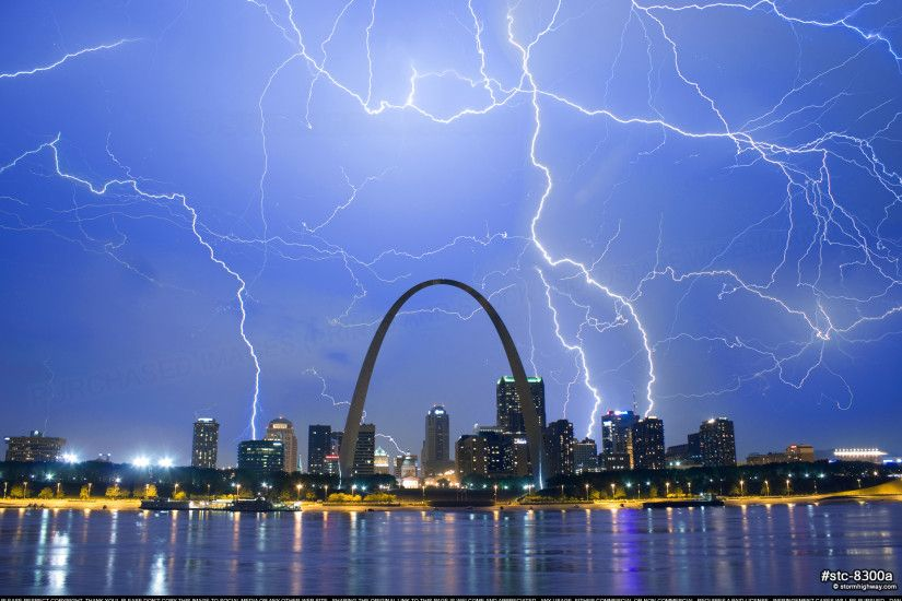 A collection of photos from the city Saint Louis, Missouri, including the  skyline, Gateway Arch and other landmarks in all seasons, skies and weather.