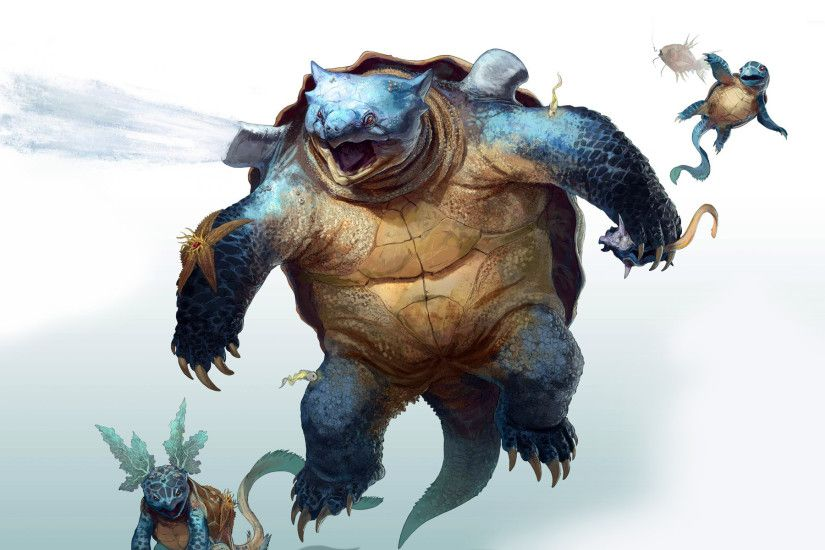 Squirtle - Pokemon wallpaper 1920x1200 jpg