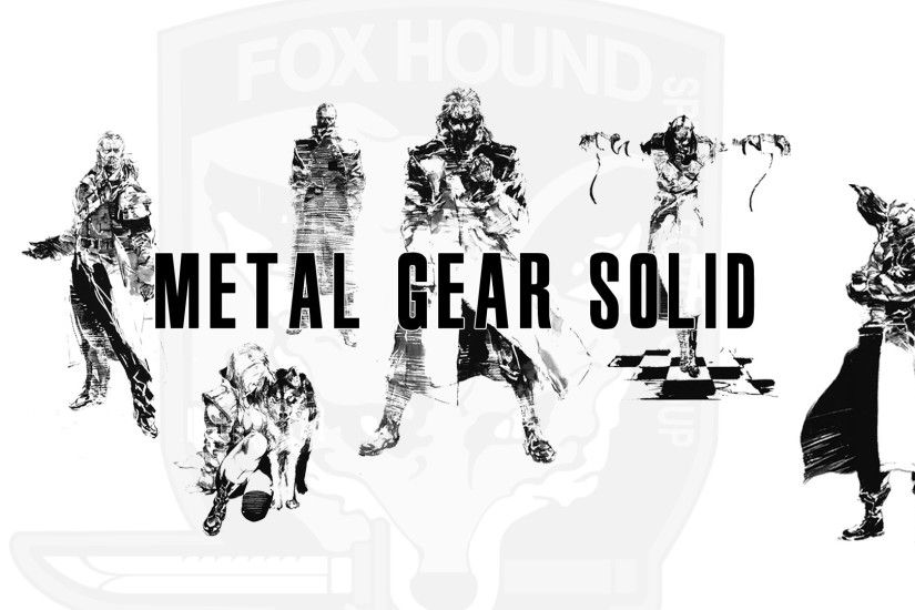 Metal gear solix foxhound Foxhound Metal Gear Solid Lotz Of Wallpaper