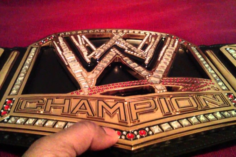 WWE World Heavyweight Championship Collectible Title Belt ...
