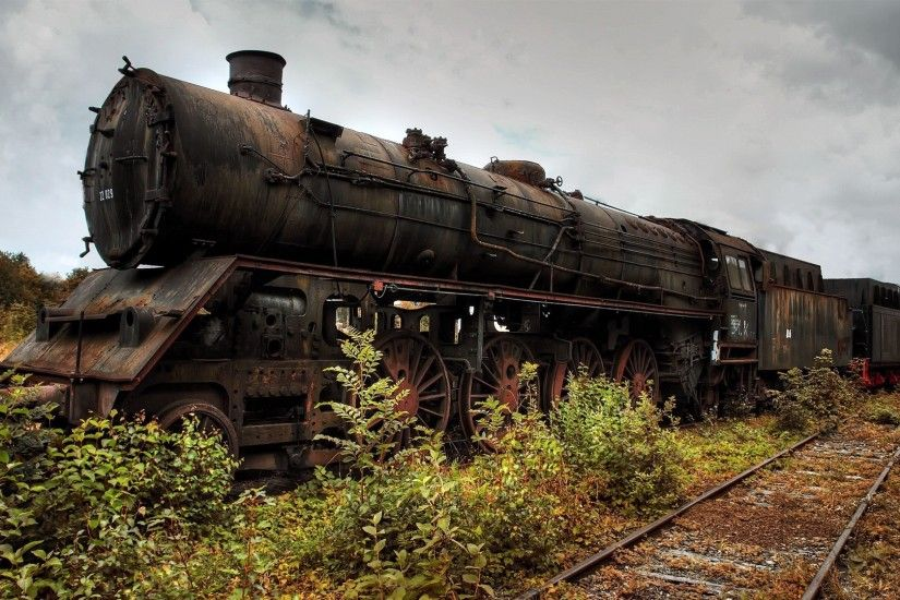Old Abandoned Train widescreen wallpaper | Wide-Wallpapers.NET