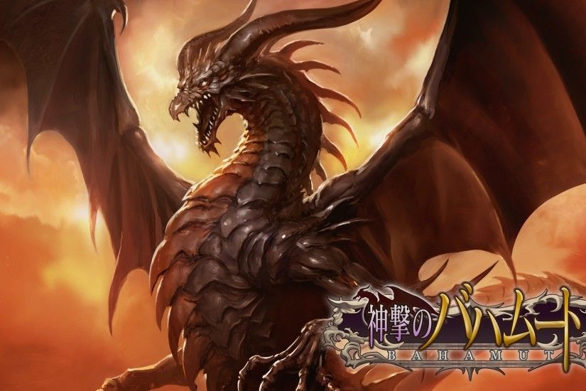 Bahamut Wallpapers - Wallpaper Cave Blood Of Bahamut HD desktop wallpaper :  High Definition .