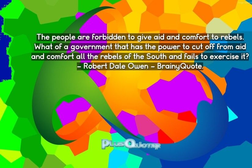 "Download Wallpaper with inspirational Quotes- ""The people are forbidden to  give aid and comfort"