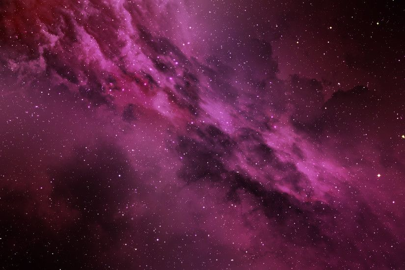 Stars, Pink, Cosmos, HD