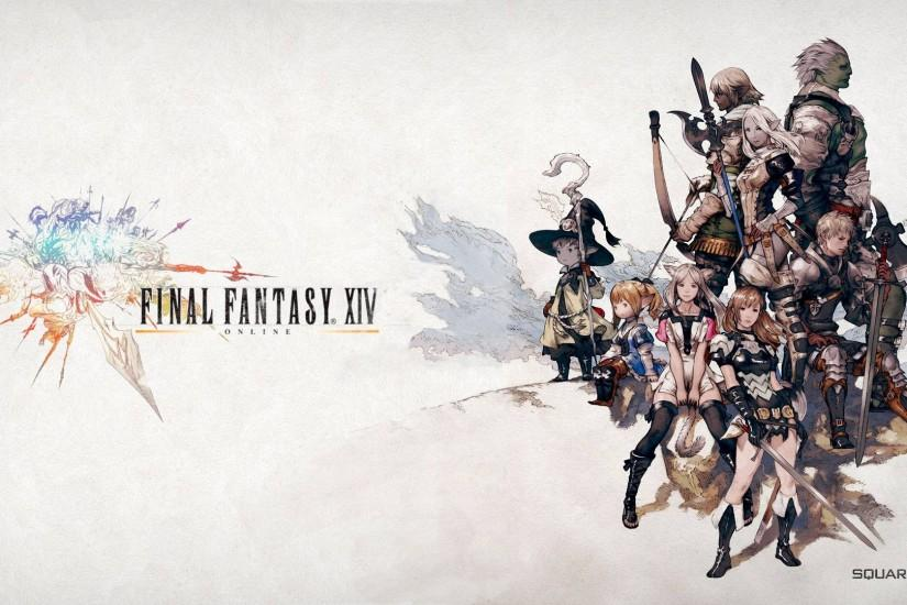 Official Final Fantasy XIV wallpapers?