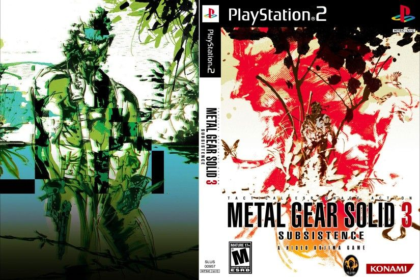 metal gear solid 3 subsistence wallpaper