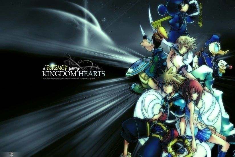 Kingdom Hearts Wallpapers HD - Wallpaper Cave ...