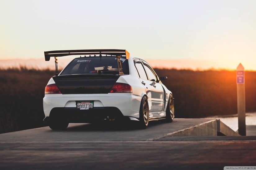 Lancer Evolution HD Wide Wallpaper for Widescreen
