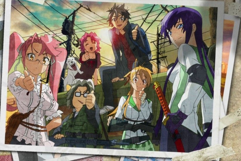 HD Wallpaper | Background ID:205418. 1920x1080 Anime Highschool Of The Dead