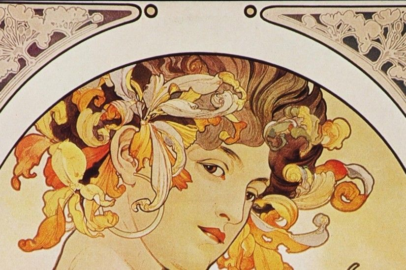 Alphonse Mucha Background 1920x1080 Wallpaper Desktop Images Background  Photos Download HD Free Samsung Mac 1920x1080