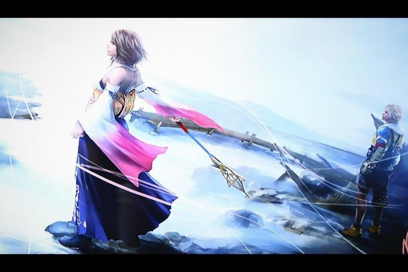 New Final Fantasy X Artwork Wallpaper Edit | SQUARE PORTAL