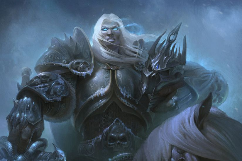 Arthas Menethil, Arthas, Warcraft III, World of Warcraft: Wrath of the Lich  King Wallpapers HD / Desktop and Mobile Backgrounds