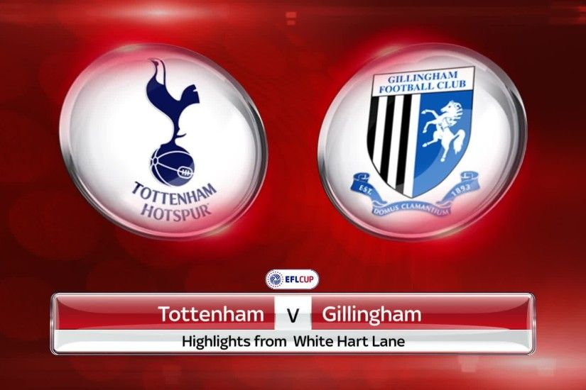 Highlights of Tottenham's 5-0 home win over Gillingham in the EFL Cup