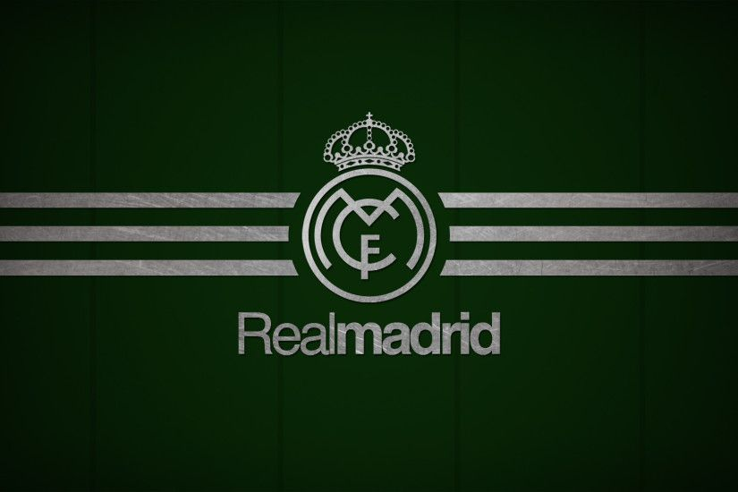 Real Madrid Logo Black Wallpaper HD.  real_madrid_wallpapers_1920x1080_hd_35_green_background