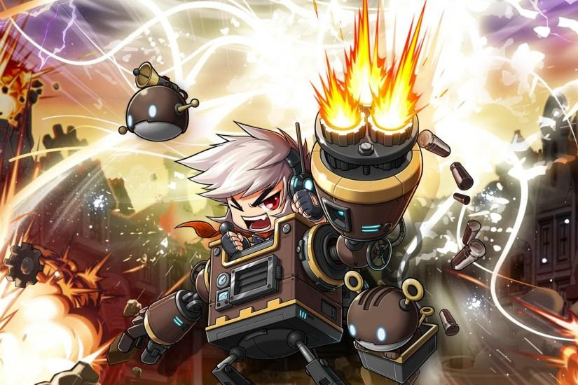 MAPLESTORY mmo online rpg scrolling fantasy 2-d family maple story (88)  wallpaper