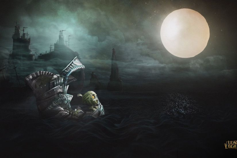 "Amumu ""Curse of the Sad Mummy"" Wallpaper ..."