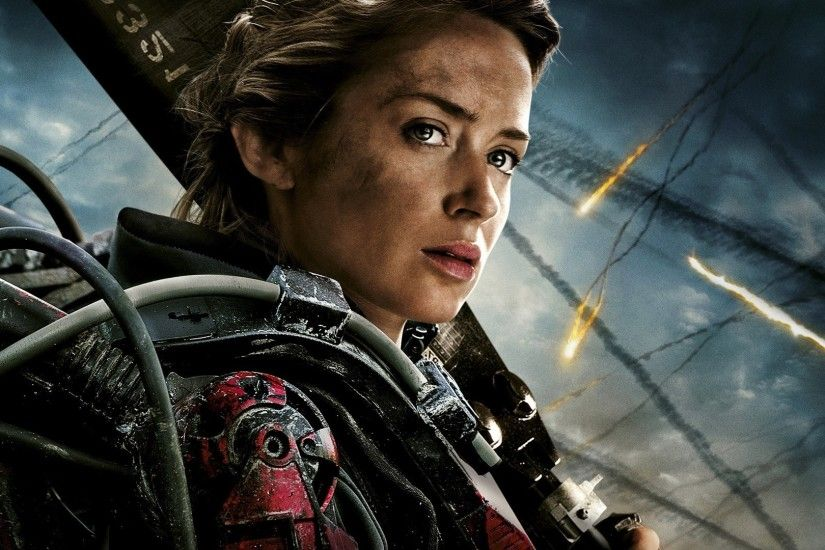 Edge Of Tomorrow, Emily Blunt Wallpapers HD / Desktop and Mobile Backgrounds